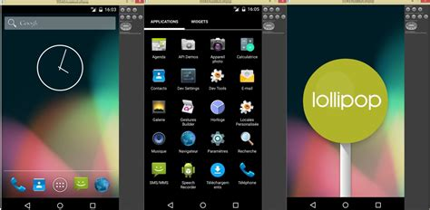 tutorial android emulator tutoriel installer android 5 1 lollipop sur votre pc