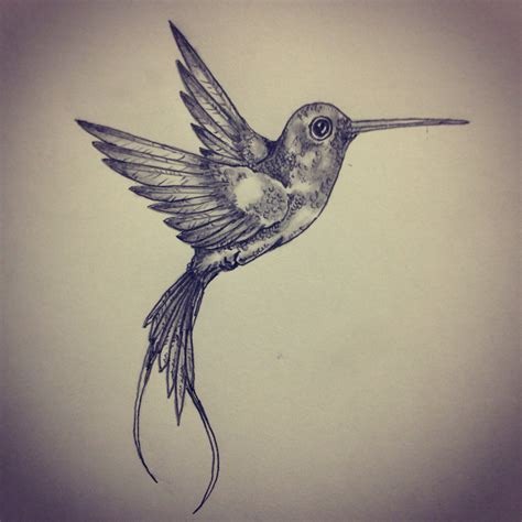hummingbird tattoo sketch by ranz pinterest