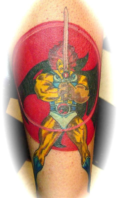 thundercats tattoo thundercats