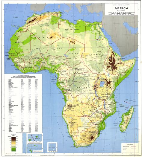 map of africa countries maps of africa map library maps of the world