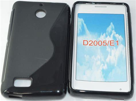 Quality Softcase Sony Experia E1 D2005 premium quality s line tpu silicone back for sony xperia e1 d2005 black buy premium