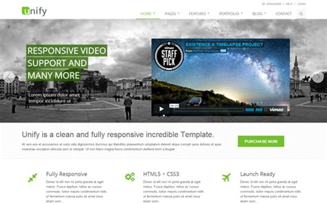bootstrap themes unify unify v1 9 4 responsive website template download