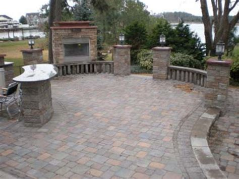 Backyard Masonry Ideas Brick Patio Pictures And Ideas