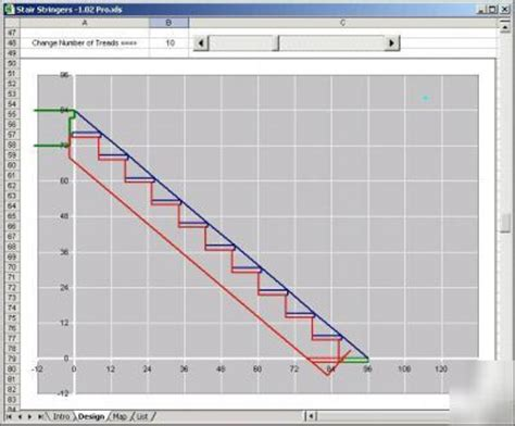 stair design calculator stair stringer design calculator spreadsheet building