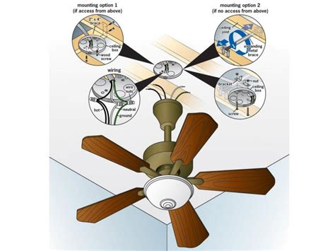 how do you install a ceiling fan how to install a ceiling fan