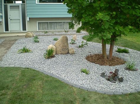 backyard landscaping ideas with stones 50 front yard landscaping ideas with gallery decoration y