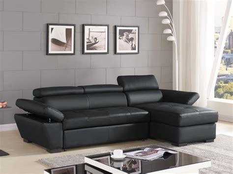 divano letto angolare pelle divano letto angolare pelle antracite o bianco jonova