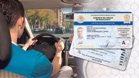 guia examen licencia de manejo guanajuato licencia para conducir guanajuato 191 d 243 nde sacarla un1 211 n