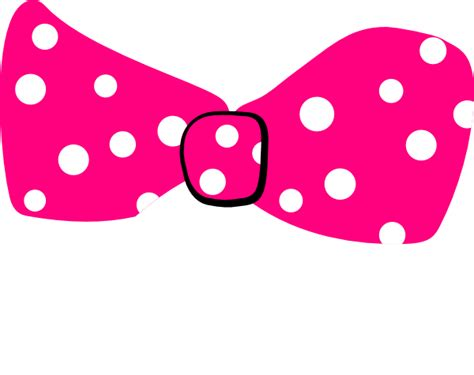 Md Polka Jumbo Htm bow with polka dots clip at clker vector clip royalty free domain