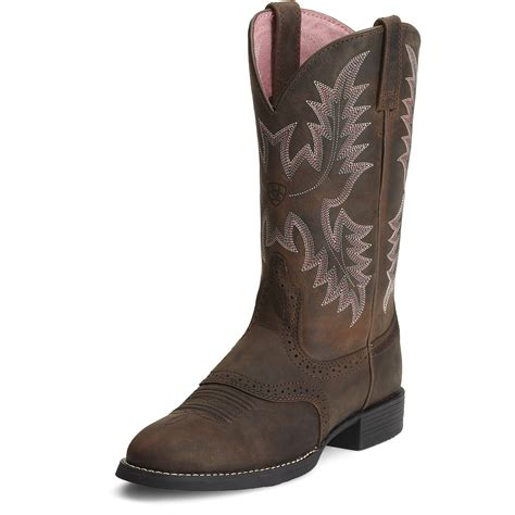 womans ariat boots ariat s heritage stockman boots