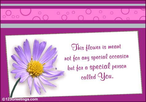 special  flower week ecards greeting cards