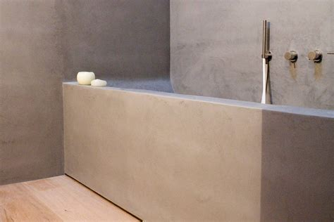 vasca in cemento vasche da bagno in cemento la nuova frontiera dell estetica