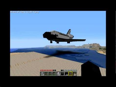 1:1 scale minecraft space shuttle tour youtube