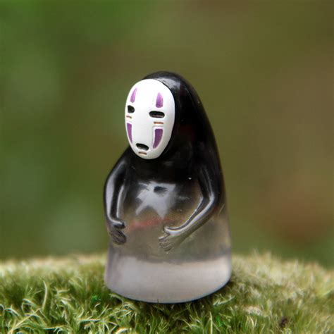 Totoro Home Decor by Chubby Spirited Away No Face Figure Animecasing