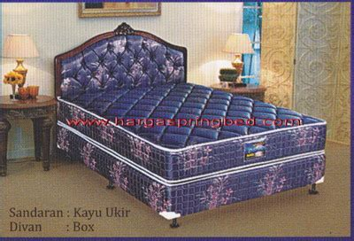 Kasur Bed Uniland Paradise uniland paradise toko kasur bed murah simpati