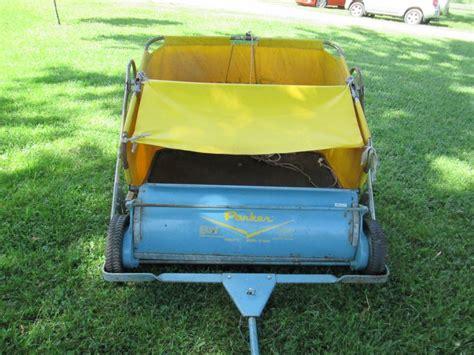 slippery rock lawn and garden trailettte lawn sweeper model te 8636 pittsburgh