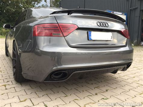 Audi A5 Rs5 Umbau by Heck Audi S5 Heck Sto 223 Stange Auf Rs5 Umbauen Audi A5