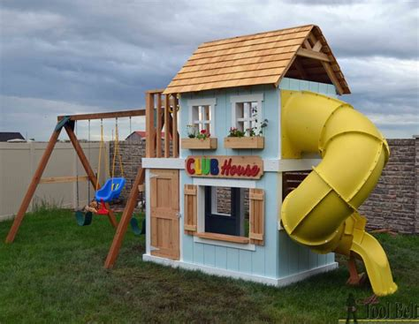 backyard clubhouse plans coolest playhouses for kids mum in the madhouse
