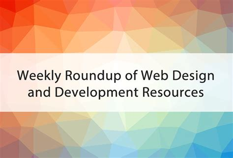 Web Snob Weekly Roundup by
