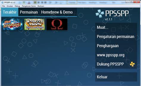 cara main game psp format rar bermain game psp di komputer dengan emulator ppsspp itponsa