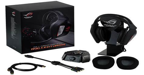Headset Untuk Asus asus rog segera launching headset gaming centurion 7 1 2018 harianindo