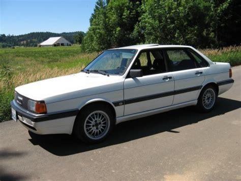 best auto repair manual 1987 audi 4000 regenerative braking nicest we ve seen 1987 audi 4000cs quattro bring a trailer