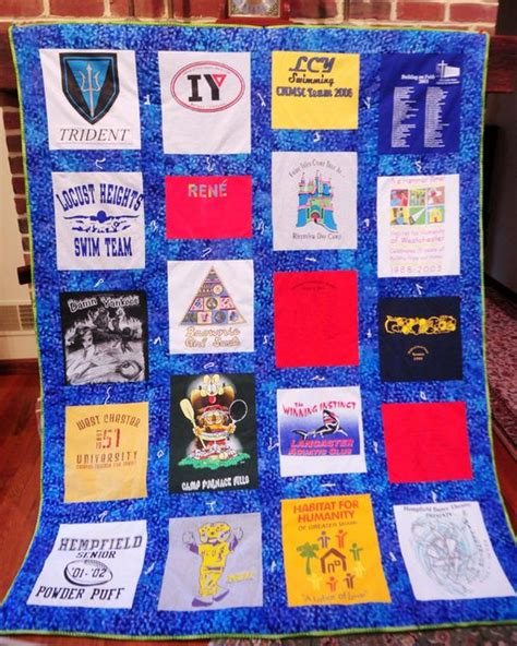Turning T Shirts Into Quilts by Turn Souvenir T Shirts Into A Quilt That Tells Your Story