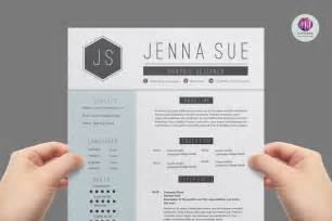 Sophisticated Resume Templates by Two Page Cv Template Resume Templates On Thehungryjpeg 1222
