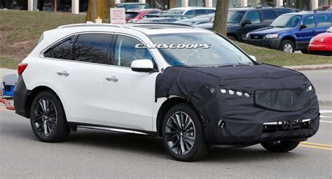 acura in 2017 mdx facelift will be the beakless acura in years