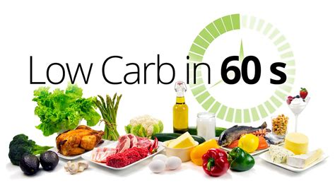 carbohydrates diet low carb in 60 seconds diet doctor