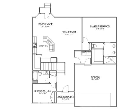 house floor plan ideas open plan house