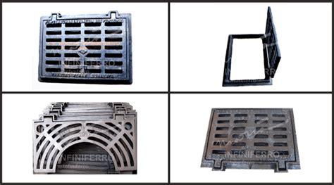 Fly Grating Grill Deck Drain Tutup Saluran 1 grill cast iron saluran air drainase infiniferro