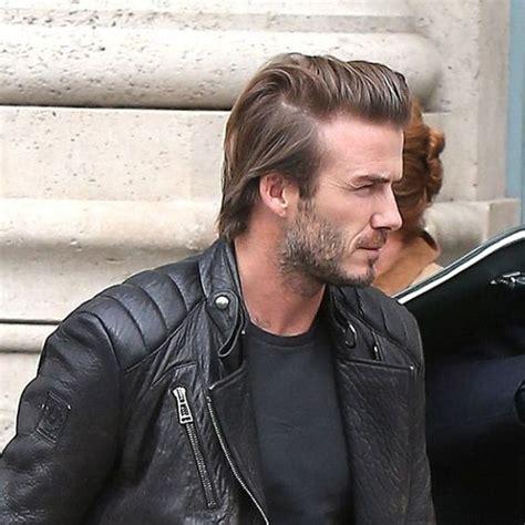 Slick Medium David Beckham Slicked Back Hair Men S Medium Hairstyles