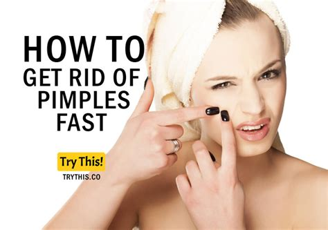 how to get rid of pimples fast how to get rid of pimples fast beauty tips