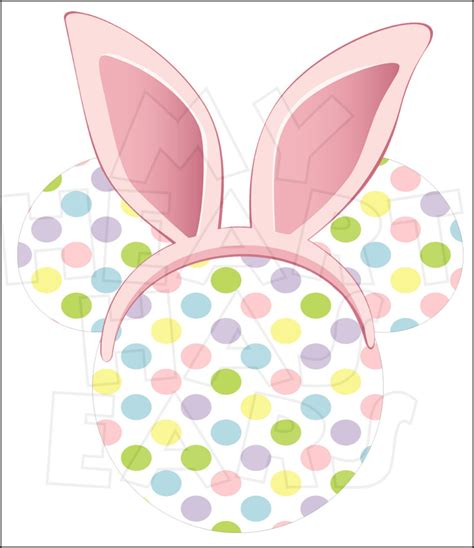 mickey easter ears clip displaying 19 images for bunny ears clip