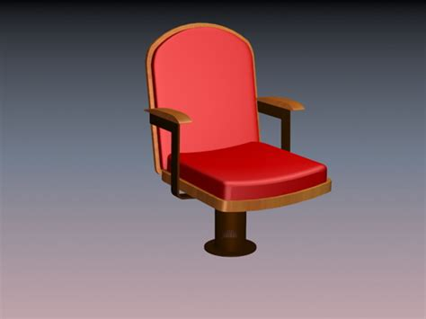 Auditorium Chair 3d Model Free by Fixed Auditorium Seating 3d Model 3dsmax Files Free