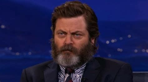 nick offerman out there nick offerman has some sure fire romance tips ifc