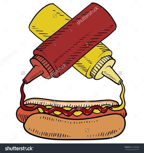 ketchup clipart ketchup mustard clipart 69