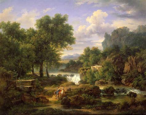 classic landscape wallpaper oil painting classic scenery landscape gdf 19 oil