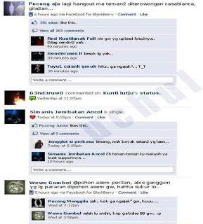 wallpaper anak alay wallpaper lucu status facebook pocong kuntilanak