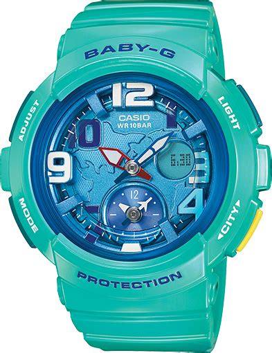 Baby G Casio Dg 120 Blue bga190 3b baby g traveler series womens watches