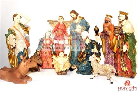 jesus christmas crib statue set buy jesus statue in thrissur kerala india holy city religious articles