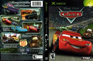 cars xbox cover scan