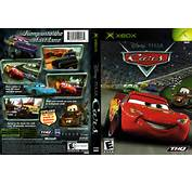 Cars XBox Cover Scan HiRes 300dpi