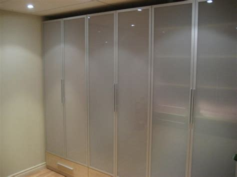 wardrobe with glass doors closet toronto by komandor