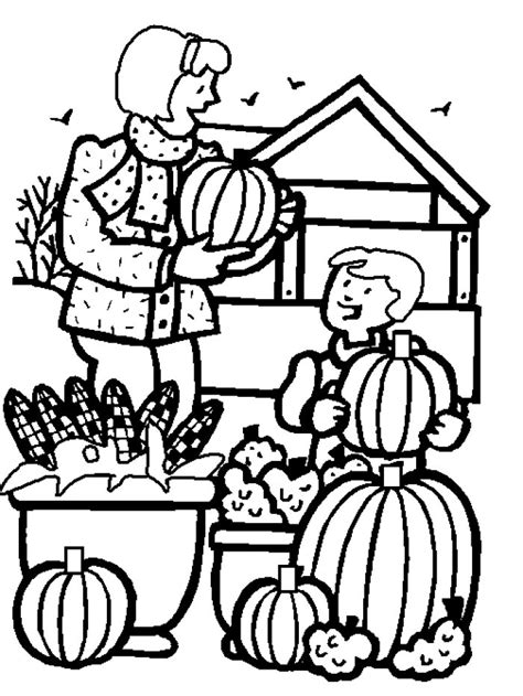 autumn harvest coloring pages free harvest festival coloring pages