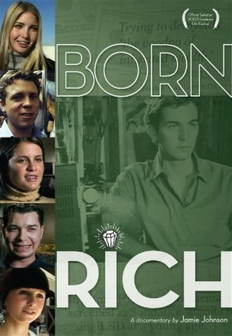 Born Rich Documentary   quot born rich quot and quot the one percent quot two thought provoking