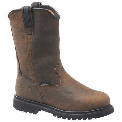mens cheap wellington boots s carolina 174 waterproof aluminum toe metguard