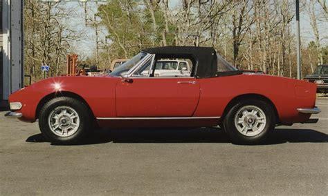 1967 fiat spider 1967 fiat dino spider 21569