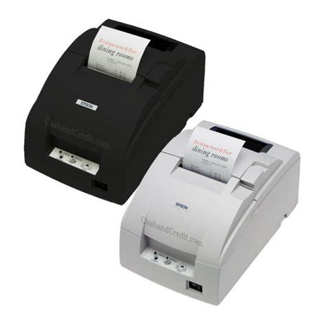 Epson Tm U220 B epson tm u220b receipt kitchen printer